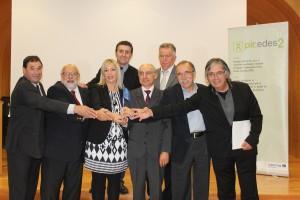 firma convenio partenariado candidatura PIR-EDES 2 053